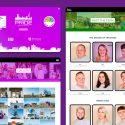 Portsmouth Pride WordPress marketing website designed by freelance website designer Christine Wilde